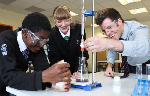 Science work with teacher